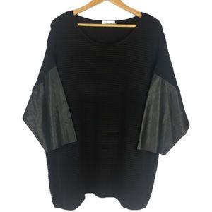 Calvin Klein | Black Oversized Sweater | 2X